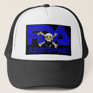 FDA Approved (Black) Trucker Hat