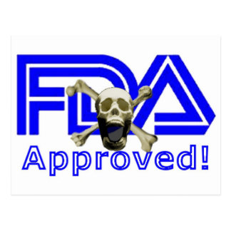 FDA Approved Postcards