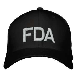 FDA EMBROIDERED HAT