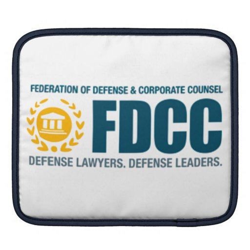 FDCC iPad SLEEVE