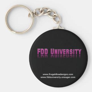 FDD University Merchandise Keychain