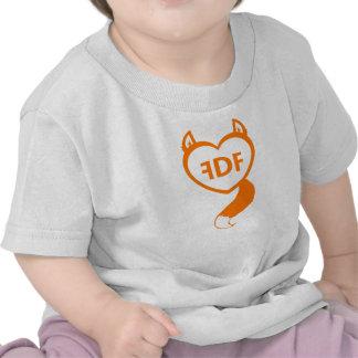 FDF Fuzzy Heart Baby Tee