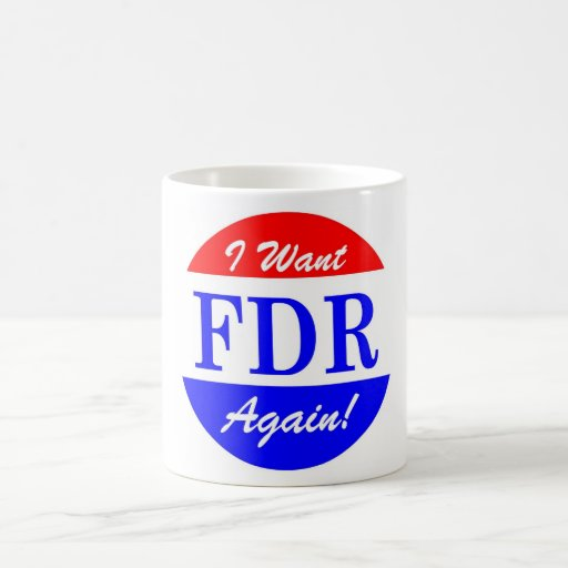 FDR - America's Greatest President Tribute Coffee Mugs