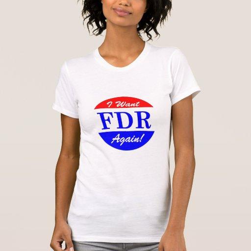FDR - America's Greatest President Tribute Shirt