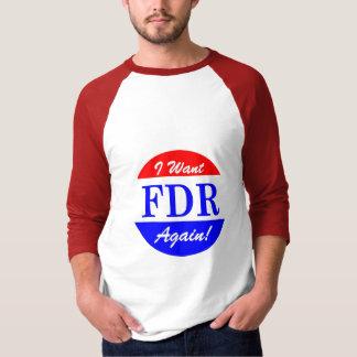 FDR - America's Greatest President Tribute T-Shirt