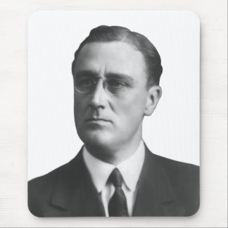 FDR As A Young Man Mouse Pad