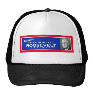 FDR campaign hat