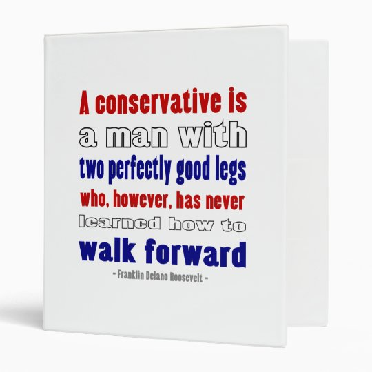 FDR Defines Conservatives Darker Binder