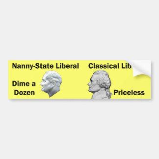 FDR Dime a Dozen Bumper Sticker
