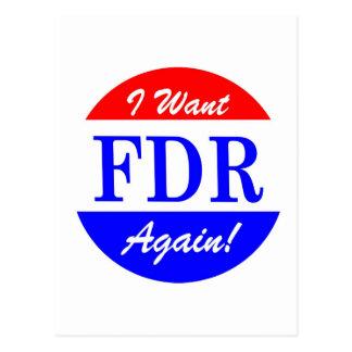 FDR - El presidente más grande Tribute de América Postales