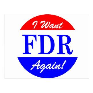 FDR - El presidente más grande Tribute de América Postal