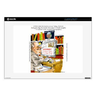 FDR Fireside Speech Funny Cartoon Gifts & Tees Decal For Laptop