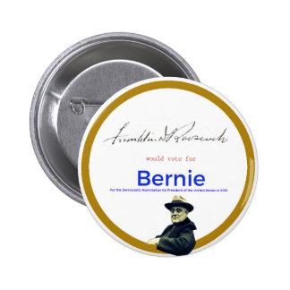 FDR for Bernie Sanders Pinback Button