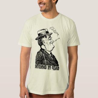 FDR Franklin D Roosevelt NADA TEMER Polera