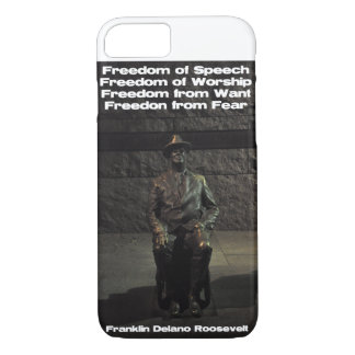 FDR  - Freedom from Fear iPhone 7 Case