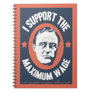 FDR Maximum Wage Note Book