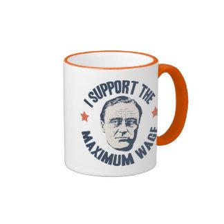 FDR Maximum Wage Ringer Mug