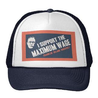 FDR Maximum Wage Trucker Hat