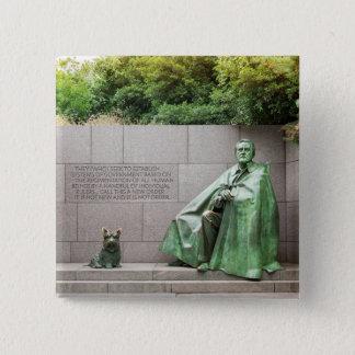 FDR Memorial in Washington DC Pinback Button