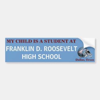 FDR Mustang - My Child/Bumper Sticker