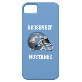 FDR Mustangs - IPhone 5/5S Columbia Blue Case
