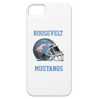 FDR Mustangs - IPhone 5/5S White Case iPhone 5/5S Cases