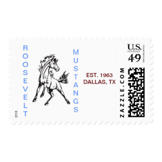 FDR Mustangs - Stamps