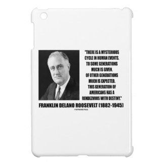 FDR Mysterious Cycle Events Rendezvous Destiny iPad Mini Cases