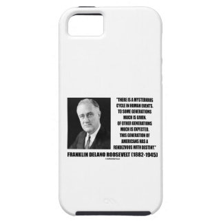 FDR Mysterious Cycle Events Rendezvous Destiny iPhone SE/5/5s Case
