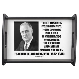 FDR Mysterious Cycle Events Rendezvous Destiny Serving Tray