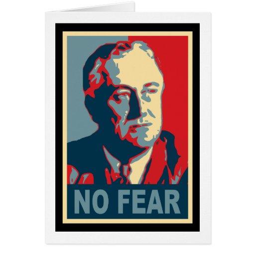 FDR ningún miedo Felicitaciones