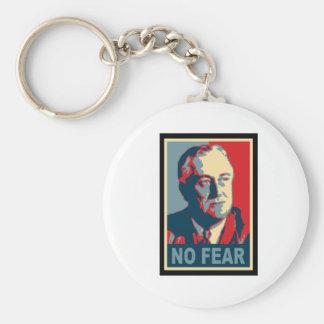FDR ningún miedo Llaveros Personalizados