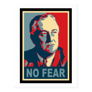 FDR No Fear Postcards