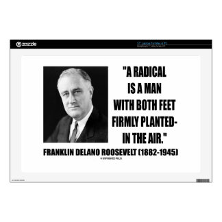 """FDR Radical Is Man Both Feet Firmly Planted Air Skin For 17"""" Laptop"""