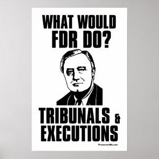 FDR: Tribunals & Executions Print