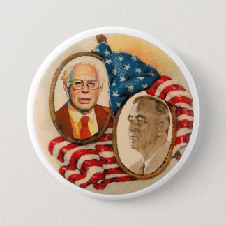 FDR wants Bernie Sanders in 2016 Pinback Button