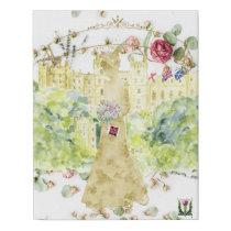 FD's Royal Wedding Artwork 53086A2 Faux Canvas Print