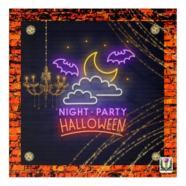 Halloween Themed FD's Skeerie Halloweenie Artwork 53086A1 Acrylic Print