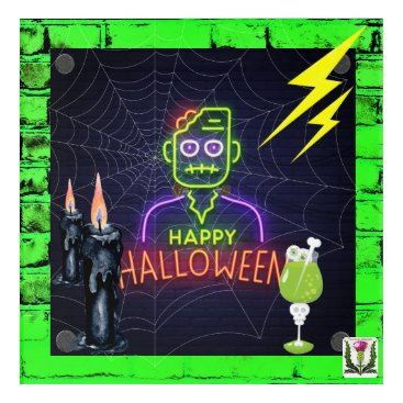 Halloween Themed FD's Skeerie Halloweenie Artwork 53086A5 Acrylic Wall Art