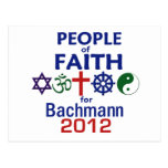 Fe 2012 de Bachmann Tarjeta Postal