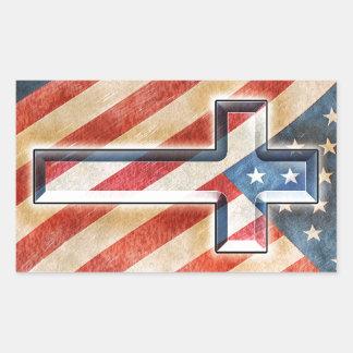 Fe americana rectangular altavoces