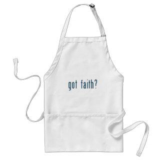 fe conseguida delantal