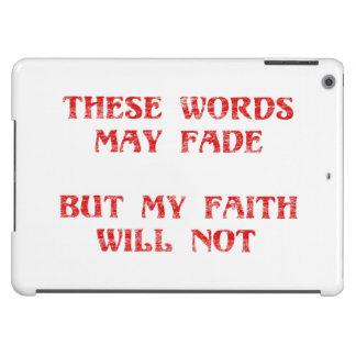 Fe cristiana funda para iPad air
