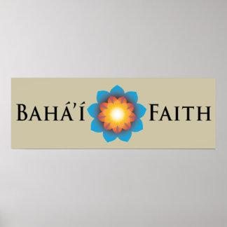 Fe de Bahá'í Póster