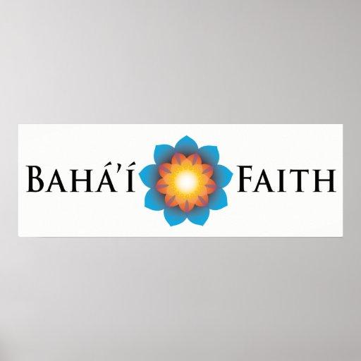 Fe de Bahá'í Poster