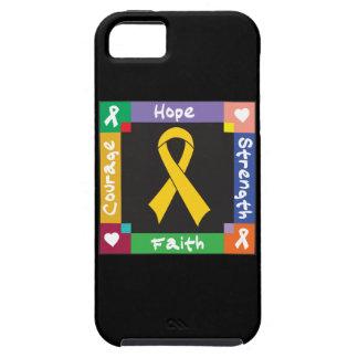 Fe de la fuerza de la esperanza de Neuroblastoma Funda Para iPhone 5 Tough