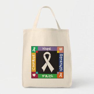 Fe de la fuerza de la esperanza del cáncer de bolsas