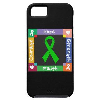 Fe de la fuerza de la esperanza del cáncer del iPhone 5 funda