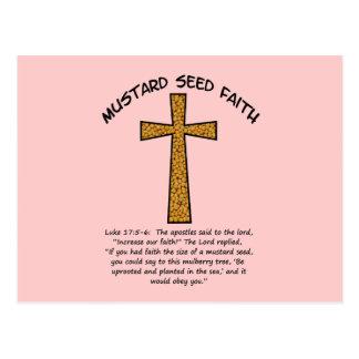 Fe de la semilla de mostaza