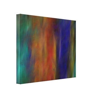 Fe de los colores 2,1 impresiones en lienzo estiradas